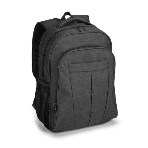 Rucsac Laptop 17 inch, Everestus, NB, 600D densitate mare, antracit, saculet de calatorie si eticheta bagaj incluse