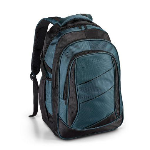Rucsac Laptop 15.6 inch, Everestus, NB, 1680D si 300D, albastru polar, saculet de calatorie si eticheta bagaj incluse