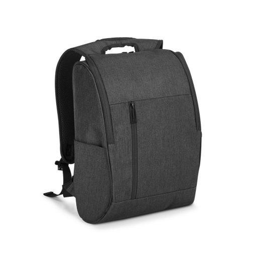 Rucsac Laptop 15.6 inch, Everestus, LR, 600D densitate mare, antracit, saculet de calatorie si eticheta bagaj incluse