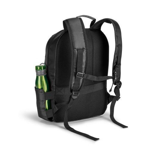 Rucsac Laptop 17 inch, Everestus, BE, 840D si 300D densitate mare, gri inchis, saculet de calatorie si eticheta bagaj incluse