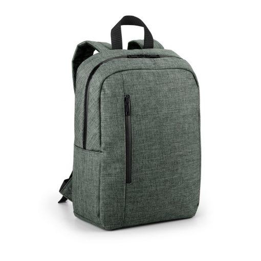 Rucsac Laptop 14 inch, Everestus, SS, 600D densitate mare, gri inchis, saculet de calatorie si eticheta bagaj incluse