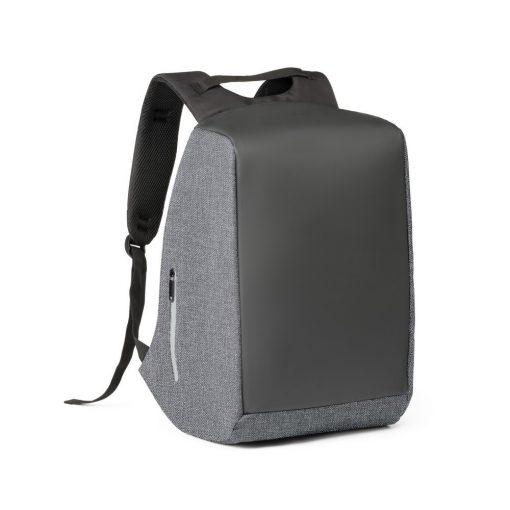 Rucsac Laptop 15.6 inch, Everestus, NB, 900D densitate mare si tarpaulin, gri inchis, saculet si eticheta bagaj incluse