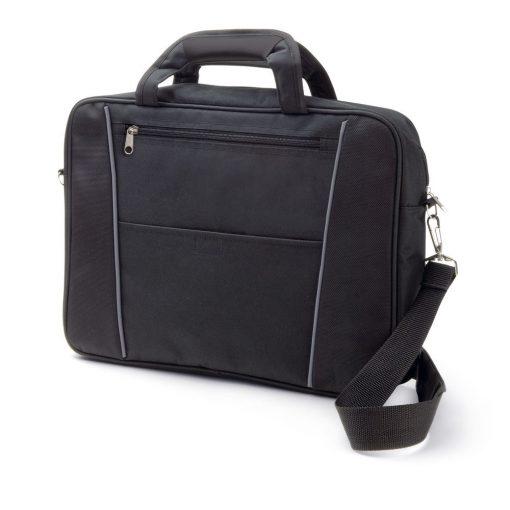 Geanta Laptop 15.6 inch, Everestus, NB, poliester 1680D si 300D, negru, saculet de calatorie si eticheta bagaj incluse