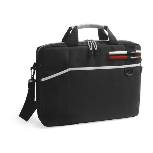 Geanta Laptop 15.6 inch, Everestus, NB, 600D, gri deschis, saculet de calatorie si eticheta bagaj incluse