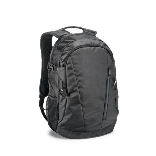 Rucsac Laptop 15.6 inch, Everestus, OA, 840D, negru, saculet de calatorie si eticheta bagaj incluse