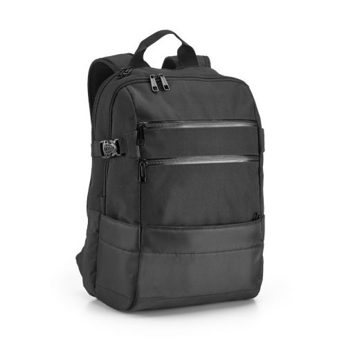 Rucsac Laptop 15.6 inch, Everestus, ZS, 840D jacquard si 300D, negru, saculet de calatorie si eticheta bagaj incluse