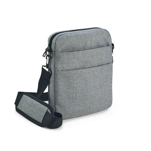 Geanta de umar 9.7 inch, Everestus, GS, 600D densitate mare, gri deschis, saculet de calatorie si eticheta bagaj incluse