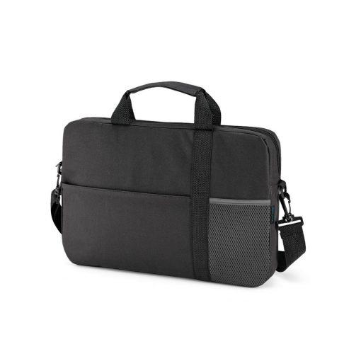 Geanta Laptop 15.6 inch, Everestus, HA, 600D, grafit, saculet de calatorie si eticheta bagaj incluse
