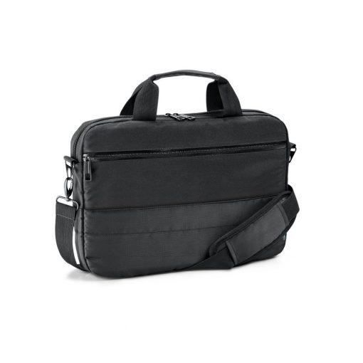 Geanta Laptop 13.3 inch, Everestus, ZS, 840D jacquard si 300D, negru, saculet de calatorie si eticheta bagaj incluse
