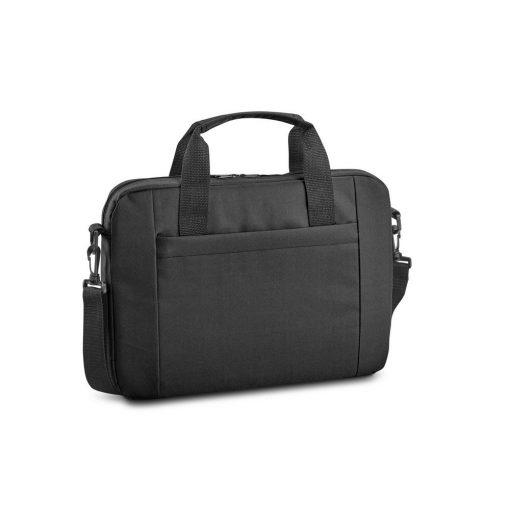 Geanta Laptop 15.6 inch, Everestus, NB, 600D, negru, saculet de calatorie si eticheta bagaj incluse