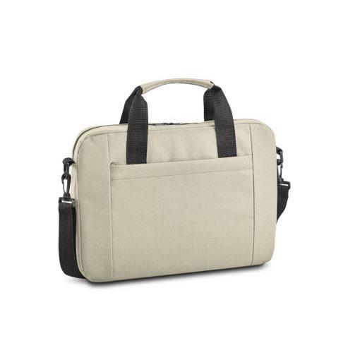 Geanta Laptop 15.6 inch, Everestus, NB, 600D, bej, saculet de calatorie si eticheta bagaj incluse