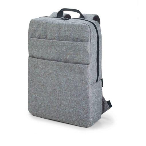 Rucsac Laptop 15.6 inch, Everestus, GS, 600D densitate mare, gri deschis, saculet de calatorie si eticheta bagaj incluse