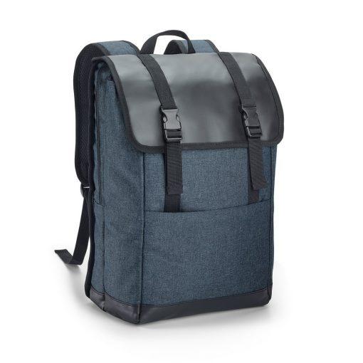 Rucsac Laptop 17 inch, Everestus, TR, 600D densitate mare si tarpaulin, albastru inchis, saculet si eticheta bagaj incluse