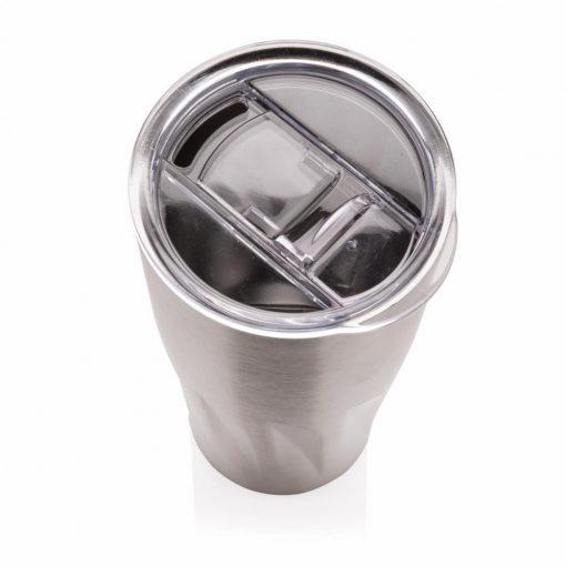 Cana termoizolanta 500 ml, perete dublu fara condens, Everestus, BM, otel inoxidabil, as, argintiu, saculet de calatorie inclus