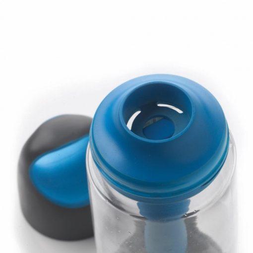 Sticla de apa 700 ml, cu maner si element de racire integrat, XD by AleXer, BP, tritan, pp, albastru, breloc inclus