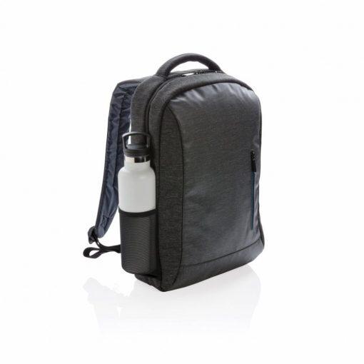 Rucsac Laptop 15.6 inch cu design sport, pvc free, Everestus, BK, poliester 900D, negru, saculet si eticheta bagaj incluse